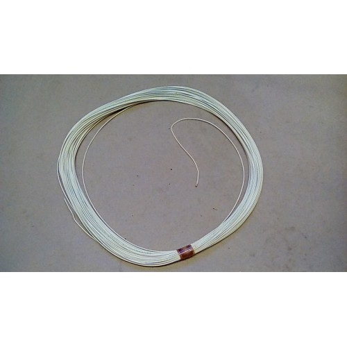 WIRE ELECTRICAL INTERNAL COMPONENT CONNECTION WHITE 100FT